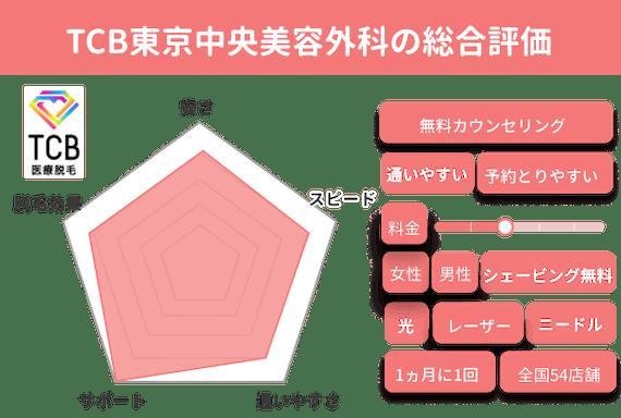 TCB東京中央美容外科_チャート