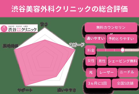渋谷美容外科クリニック_チャート